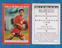 South Korea Kim Joo Sung VFL Bochum 1994